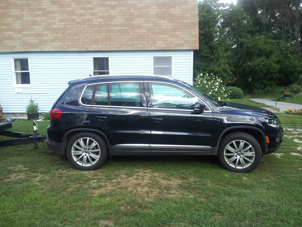 vwvortex - towing with a tiguan