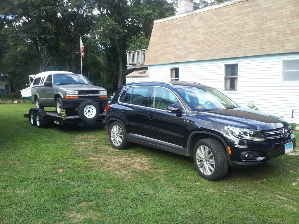 VWVortex.com - Towing with a Tiguan